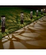 Solar LED Pathway Bollard Light, 6-pack - $132.05