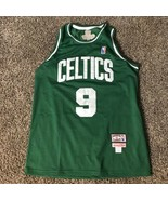 Boston Celtics Rajon Rondo #9 Hardwood Classics Sewn Letters Youth Size 7 - $19.79