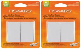 Lot of 2x Fiskars Heavy Duty Craft Staples Refill Replacement Pack 2000/Pkg NEW