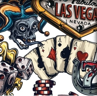 Gamblers lucky hand