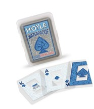Hoyle Waterproof Clear Playing Cards 1-Pack - $11.40
