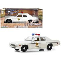 1975 Dodge Monaco Cream Hazzard County Sheriff 1/24 Diecast Model Car by... - $39.48