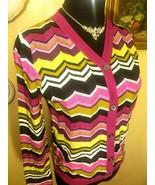 Missoni for Target Shimmery Purple Knit Cardigan Sweater - Girls XL - $50.00