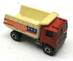 Vintage Mattel Hot Wheels Redline 1973 American Tipper Diecast Dump Truc... - $42.03