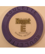 """1980's Roulette Chip From: """"John Ascuaga's Nugget Hotel & Casino""""- (sku#... - $2.89"""