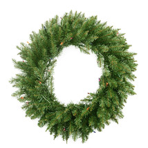 """24"""" Northern Pine Artificial Christmas Wreath - Multi-Color Lights - $61.95"""