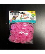 (2 Packs)Funky Loomz Rubber Band Refills 300 Bands +25 S-Clips Pink Bran... - $10.84