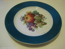 VINTAGE NIKONIKO CHINA DESSERT PLATE FRUIT DESIGN - $9.99