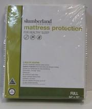 Slumberland Full Mattress Protection White Smooth Breathable image 1