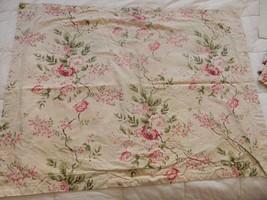 RALPH LAUREN LRL Floral Pillow Sham Cover Standard (1) RARE Cottage Shab... - $69.95