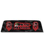 Metal Mulisha 9 - Window Perf Rear Window Graphic Decal Truck suv perf - $79.20+