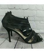 Christian Dior | Back Zip Suede Leather Open Toe High Heels Size EU 40 US 9 - $296.99