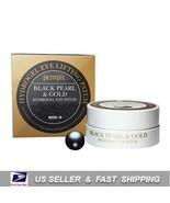 [ PETITFEE ] Black Pearl & Gold Hydrogel Eye Patch 60 Sheet - $11.78