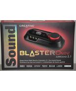 Creative Sound Blaster Omni Surround 5.1 USB SBX Sound Card PC MAC SB156... - $104.49