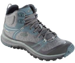 Keen Terradora Mid Sz 7 M (B) EU 37.5 Women's WP Trail Hiking Boots Gray 1019875