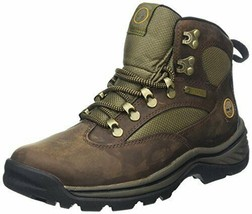Women's Timberland Chocorua Trail Mid Waterproof Hiking Boots Brown Gree... - $149.89