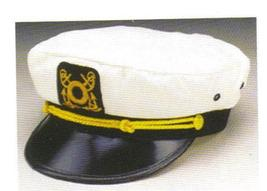 HAT YACHT CAPTAIN SKIPPER ADULT SIZE - $9.00