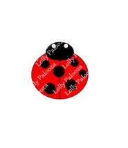 Ladybug DIGITAL File.  Instant Download.  No Physical Product to be Shipped.  PN