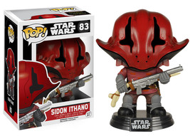 Star Wars The Force Awakens Sidon Ithano Vinyl Pop Figure Toy #83 Funko New Nib - $8.79