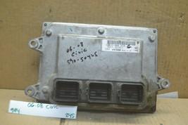 2006-2008 Honda Civic 1.8L Engine Control Unit ECU 37820RNAA58 Module 24... - $30.99