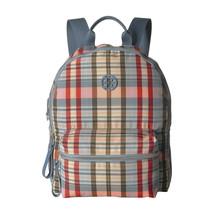 Tory Burch Tilda Plaid Nylon Leather Medium Backpack NWT - $222.26
