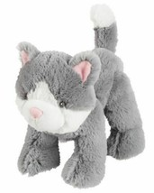 Carters Grey Gray Plush Kitty Cat Kitten Baby Toy Stuffed Animal Lovey 67068 - $59.39