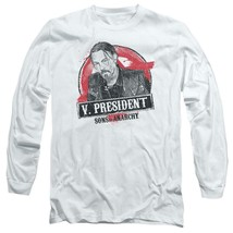 "Sons of Anarchy ""V. President"" TV series long sleeve graphic t-shirt SOA117 image 1"