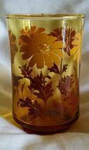 Libbey Ombre Daisy Juice Glasses - 1970's Vintage - $4.49