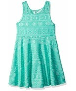 Girls Dress Marmellata Little Girls Green Lace Dress Size 7 - $15.53