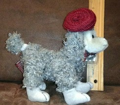 """Ty Attic Treasure Collection * Cheri *Fr Poodle Dog 7"""" Jointed Plush 1993, w/TAG - $5.99"""