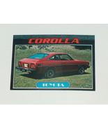 1976 Topps Autos of 1977 Toyota Corolla Car Card #86 FR-GD Condition - $12.85