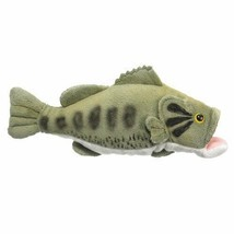 "Wild Life Artist Large Mouth Bass Plush Toy, 10"" L - $11.73"