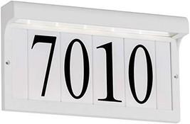 Sea Gull Lighting 96091S-15 Address 96091S-15-Address Light, White - $117.24