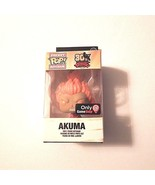 Funko 30th Anniv. Street Figher Edition Pocket Pop Akuma Keychain  - $7.43