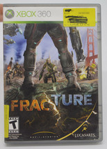 Fracture Microsoft Xbox 360 2008 LucasArts Video Game Complete in Box CIB - $12.75