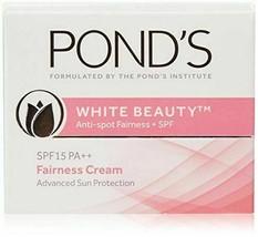 Ponds White Beauty Spot Less Daily Lightening Cream SPF 15 PA++ 50 GM (1... - $11.58