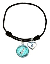 Nurses are Super Heroes Comic Look Black Leather Bracelet Jewelry RN Add... - $14.24