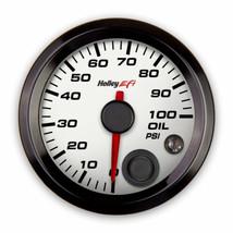 Holley EFI Oil Pressure Gauge - 553-127W - $135.95