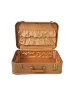 Vintage Starlite Hardside Suitcase 1950s Luggage Burlesque Case Valise W... - $173.25