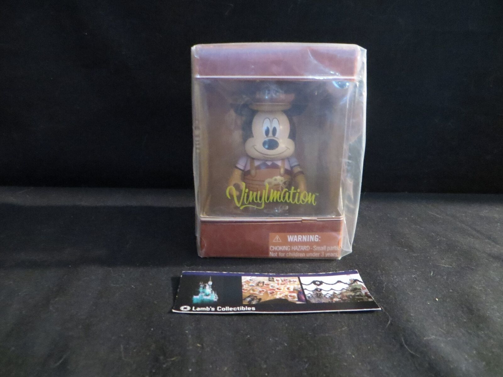 Primary image for Disney Vinylmation the Mechanical kingdom Mickey mouse sealed original plastic