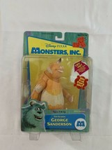 Disney Pixar Monsters Inc. George Sanderson Action Figure 2001 Mint Case Fresh - $28.49
