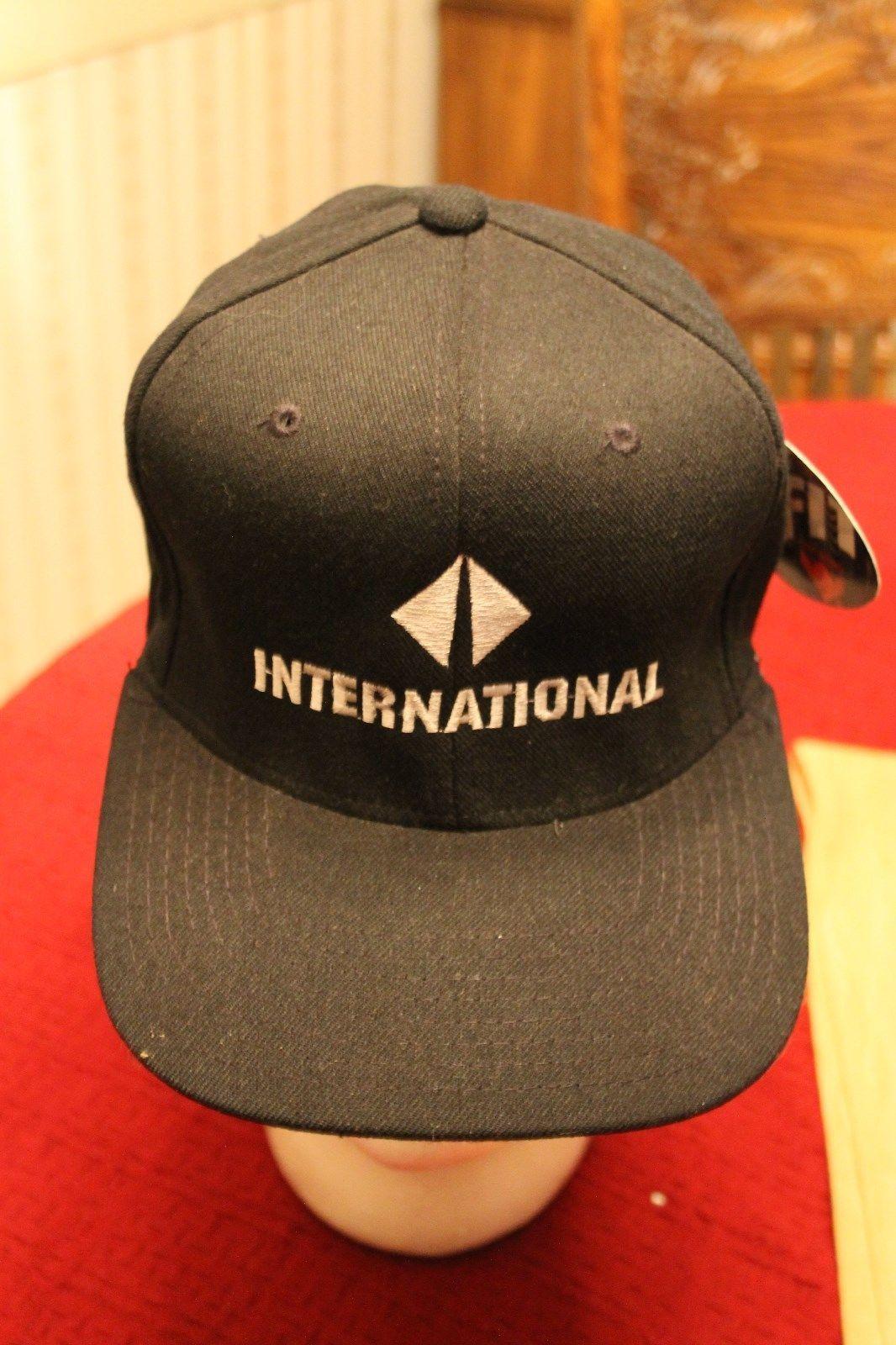 International Freight Trucker Freight Shipping Flexfit Hat Cap