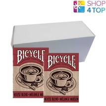 12 DECKS BICYCLE HOUSE BLEND POKER PLAYING CARDS DECK SEALED BOX CASE US... - $64.14