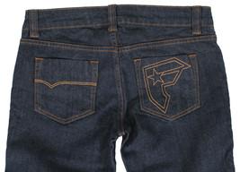 Famous Stars & Straps Womens Juniors Indigo Denim Blue Slim Fit Jeans 7 NWT