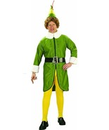Buddy the Elf Adult Mens Costume Christmas Movie Will Ferrell Character Rubies - $49.99