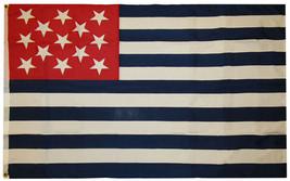 Ft Fort Mercer 1777 Historical 100D Woven Poly Nylon 3x5 3'x5' Flag (RUF) - $11.88