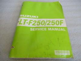 1999 Suzuki LT-F250/250F Service Manual P/N 99500-42140-01E - $20.32