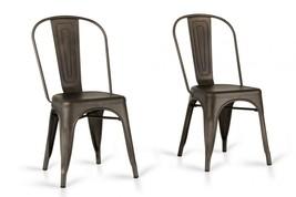 VIG Modrest Elan Rust Metal Dining Chair (Set of 2) - $261.25