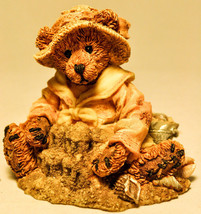 Boyds Bearstone - Bailey At The Beach - 20209 - Bearstone Collection - $18.14