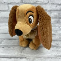 "Disney Lady and the Tramp Lady Plush 6"" Stuffed Animal Just Play Dog Puppy - $12.59"